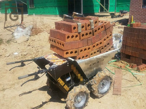 Galvaniz Mini Dumper Truck with machine - KIMURA