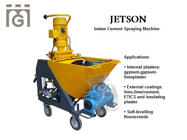 JETSON Mortar Spraying Machine
