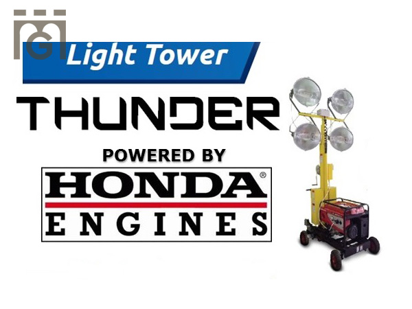 THUNDER - LIGHTING TOWER (GASOLINE) 1.000 W X 4 LAMP