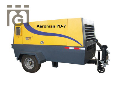 AEROMAN AIR COMPRESSOR PD-7